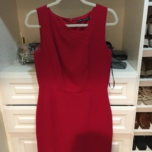 Ivanka Trump Red work dress